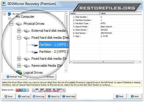 Windows 7 Restore Files 5.8.4.1 full