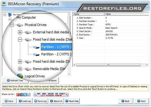 Windows 7 Restore Files Software 5.8.4.1 full